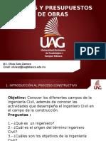 Calse 1.- Introducción Al Proceso Constructivo