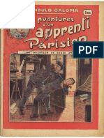 Aventures D´un Apprenti Parisien N:o 1