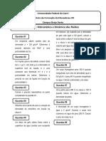 Lista 02 Dinamica Dos Fluidos
