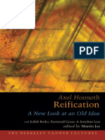 (Berkeley Tanner lectures) Honneth, Axel_ Jay, Martin_ Geuss, Raymond_ Lear, Jonathan_ Butler, Judith-Reification _ a new look at an old idea-Oxford University Press (2007).pdf