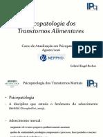 Psicopatologia Dos Transtornos Alimentares