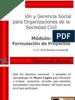 Formulación de Proyectos Karla Arzamendi