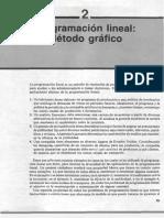 Programacion Lineal - Metodo Grafico, Simplex y Dualidad