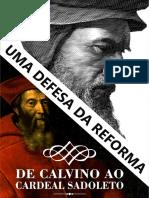 De Calvino Ao Cardeal Sadoleto Com Capa