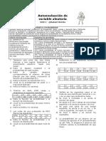 Autoevaluación de Variable Aleatoria