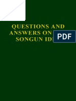 Questions and Answers on the Songun Idea