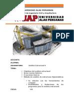 Informe de Análisis Estructural II