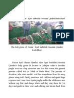 333803073 Biography of Hazrat Syed Sadullah Hussain Quaderi Bada Phad