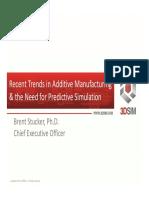 Additive World Keynote _ Brent Stucker
