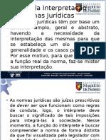 Hermeneutica - Escolas de Interpretação