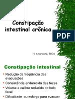 Aula Constipação Intestinal Crônica