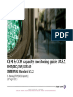 CEM Capacity Monitoring Guide UA8.1 Internal Standard