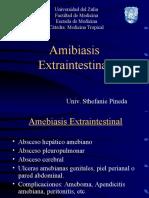 Amibiasis Extraintestinal