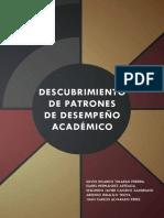 DescubrimientoPatronesDesempeño Académico - Libro