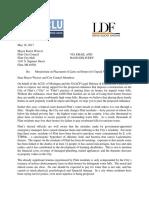 Flint Water Liens Letter