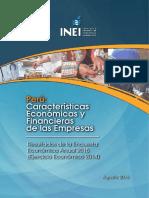 Caracteristicas Economicas y Financieras de Las Empresas