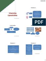 Liposolubles y Minerales