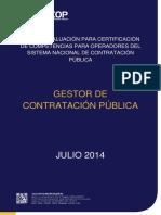 Guía Gestor de Contratación Pública