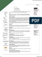 Setup Command Line Parameters