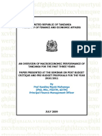 Macroeconomic Performance NBBA Post Budget Critique.doc - Copy