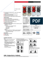 Product Data Sheet for CP 680-P and CP 680-M Cast-In Firestop Devices Technical Information ASSET DOC LOC 1540966