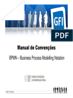 BPMN - Manual de Convenções