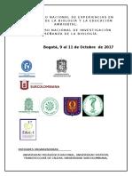 Circular (1) Congreso Enseñanza de la Biología 2017