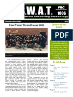S.W.A.T. Nov 2015 Newsletter