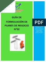 Guía de Plan de Negocio N° 02