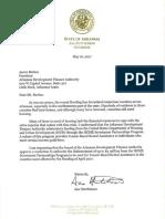 17.05.16 ADFA Flooding Letter (Aaron Burkes)