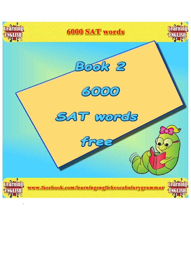 6000Words pdf | Verb | Adjective