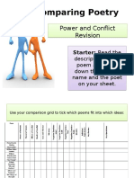 Poetry Comparison Anthology