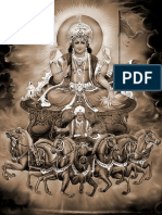 Surya on the Seven Horse Chariot