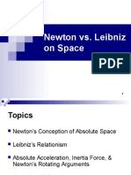 Newton vs Leibniz