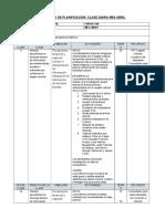 Planificacion Diaria IV Medio Realidad Nacional Mayo 2017