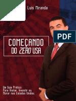 eBook Comec Ando Do Zero Luis Miranda r