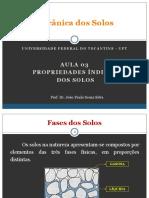 Aula 03 - Propriedades Indices dos Solos.pdf