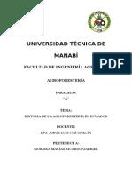 Moreira Macìas Ricardo - Historia de La Agroforesteria de Ecuador