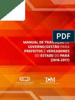 Tcm Pará Cartilha de Transição