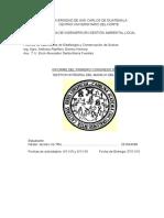 informe de congreso¨gestion integral del agua¨