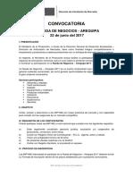 Convocatoria Arequipa 2017