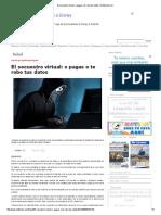 El Secuestro Virtual_ o Pagas o Te Robo Tus Datos _ Notitarde