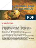 Sesion primera del curso de Historia de America Colonial