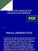 1.ASISTENŢA MEDICALĂ ÎN SITUATIILE DE URGENȚĂ.pps