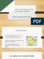 Etiqueta y Protocolo en Los Países Árabes 1