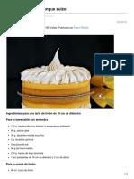 Bavette.es-tarta de Limón y Merengue Suizo