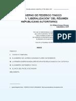El Gobierno de Federico Tinoco - Wilbert Arroyo