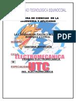 CARATULA ELECTROMECANICA