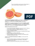 Dieta Pomelo