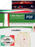little italy esc 790 ethnographic project  1